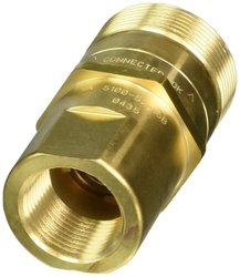 Hansen Eaton Brass Thread to Connect Hydraulic Fitting Plug with Valve