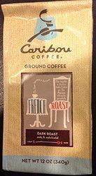 Caribou Coffee French Roast Dark Roast Ground Coffee 2.50 x, 12 oz
