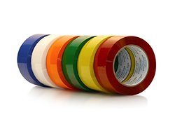 Primetac 419 2x110 WH Acrylic Carton Sealing Tape - 36 Rolls Pk - White