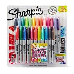 Sharpie Fine Tip Permanent Marker - Color Burst Assortment - 24-Pack