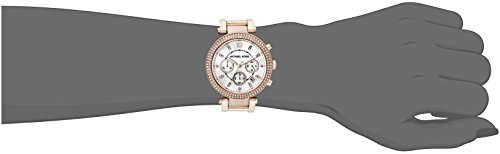 d986c15fcef4 ... Michael Kors Women s Parker Chronograph Watch - Rose Gold (MK5491) ...