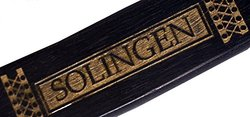 "Dovo of Solingen 'Bismarck' Straight Razor - 6/8"" Ebony (2 6810)"