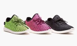 Form + Focus Athletic Heathered Runner Live - Pink Heathered/7