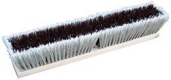 "Zephyr 39524 Combo/Strand Push Broom - 24"" Head Width - Red & Grey"