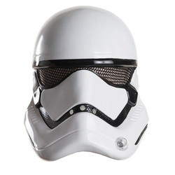 Rubies Star Wars Stormtrooper Boy's Half Helmet - White - Size: One Size