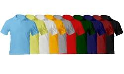 Men's Premium Quality Pique Polo: Heather Grey/small