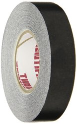 "Thomas 1/2"" W Pressure Sensitive Vinyl Label Tape - Pack of 6 - Black"