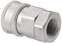 "Snap-Tite 1/2"" NPTF Female x 1/2"" Coupling Quick-Disconnect Hose Coupling"
