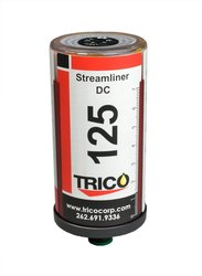 "Trico 100 Grease 60cc Streamliner 1/4"" NPT Male DC Single Point Lubricator"