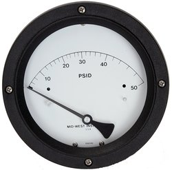 Mid-West 0-15 psid Range Differential Pressure Gauge (120-SC-00-OO-15P)