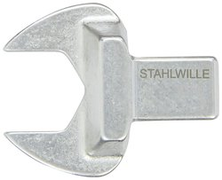 Stahlwille Size-40 22mm D x 50mm W x 11mm H Open End Insert Tool