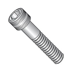 "Small Parts 2-1/4""-L 5/16""-18-Thread SS Socket Head Cap Screw - Pack of 50"