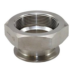 """Steel and O'brien 3/4"""" x 3/8"""" x 1.5"""" OAL Stainless Steel 22MP Adapter"""