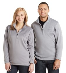 Amazon Prime Gear Unisex 10 Year Quarter-Zip Pullover - Grey