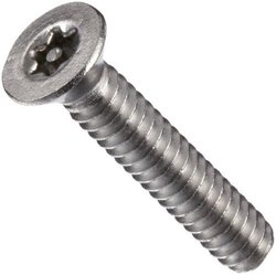 Small Parts 3/8-L #8-32-Thread Stainless Steel Machine Screw - Pack of 100