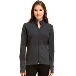 Marika Slimming Jacket: Charcoal/large