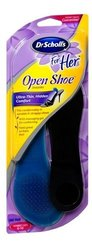 Dr. Scholl's Massaging Gel Insoles For Her Open Shoe - Size: 6-10