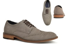 Joseph Abboud Men's Ralph Suede Oxfords - Grey - Size: 9