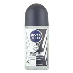 50ml Invisible For Black and White 48H Anti-Perspirant Deodorant (82245)