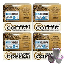 Colombian Swiss Water Decaf Single-serve Cups, 72 Ct. Of Single Serve Capsules For Keurig K-cup Brewers, Fresh Roasted Coffee Llc.