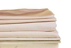 Francois et Mimi 1000 Thread Count 100% Egyptian Cotton Luxury Deep Pocket Sheet Set (King, Light Brown)