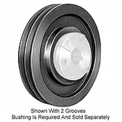 Browning 3B66SD Q-D Sheave, Cast Iron, 3 Groove, A or B Belt, Uses SD Bushing