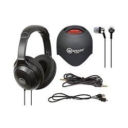 Wicked Audio Bluetooth Speaker, Ear Buds & Headphones Bundle