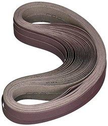 """3M Cloth Belt 341D, Aluminum Oxide, 1"""" Width x 42"""" Length, P180 Grit (Pack of 200)"""