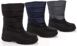 Snow Tec Women's Snow Boots Frost-4 - Black - Size: 9