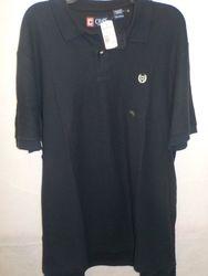 Chaps Men's Cotton Short Sleeve Polo Shirt - Navy Blue - Size: Xl