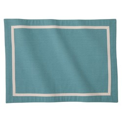 Threshold Framed Placemat - Set of 4 - Blue