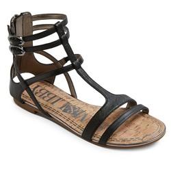 Sam & Libby Women's Hadlee Gladiator Sandals - Black - Size: 7