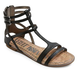 Sam & Libby Women's Hadlee Gladiator Sandals - Black - Size: 5.5