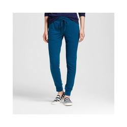 Mossimo Women's Hatchi Jogger Pants - Blue/Black - Size: Small