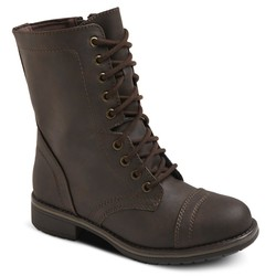 Mossimo Women's Gwen Combat Boots - Brown - Size: 5.5