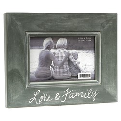 "BP Industries 4""x 6"" ""My Family"" Photo Frame"