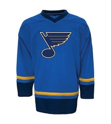 NHL St. Louis Backes Boys' Long Sleeve Athletic Jersey - Blue - Size: M