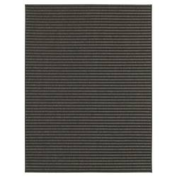Smith & Hawken Ebony Stripe Outdoor Rectangle Rug