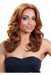 Bobbi Boss Lace Front Wig - MLF38 UMBER (#1B/30 - Black/Medium Brown Red)