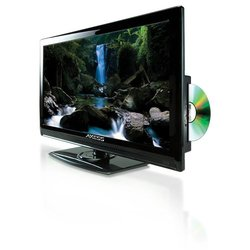"Axess 22"" LED AC/DC TV with DVD Player"
