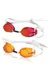 Speedo Swedish 2-Pack Swim Goggles - Amber/Red