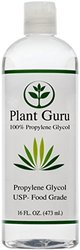 Propylene Glycol - Food Grade USP - 16 oz. - 100% Pure - Highest Quality and Purity