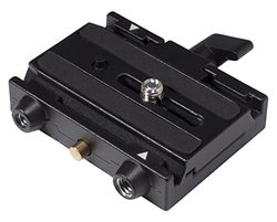 Manfrotto 577 Rapid Connect Adapter w/Sliding Mounting Plate 3433PL