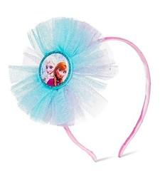 Disney Girl's Frozen Tulle Headband - Turquoise / Pink