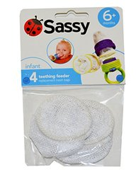Sassy Teething Feeder Bags - 4 Pack