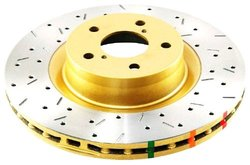 DBA DBA4966XS 4000 Series XS Premium Cross-Drilled and Slotted Front Vented Disc Brake Rotor