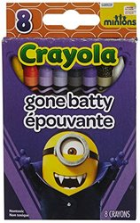 Crayola High Quality Minions 8 Boxes of 8 Crayons
