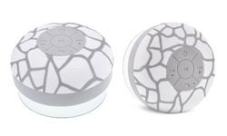 Aduro AQUA Sound Bluetooth Shower Speaker - White Giraffe