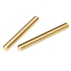 Small Parts Brass Fully Threaded Rod Right Hand Threads - Size 1 m