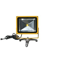 Lind Equipment Bright LED Portable Flood Light with Heavy Floor Stand 30W
